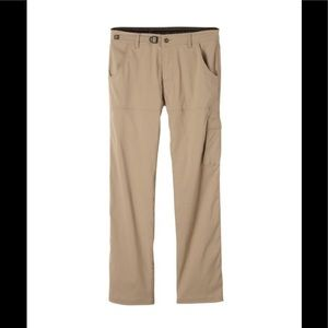 NWT Prana Men's Stretch Zion Pants in Dark Khaki